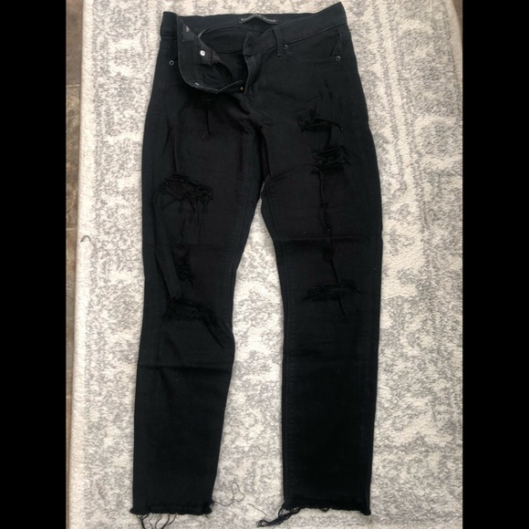 Express Midrise Stretch Skinny Ankle Jeans